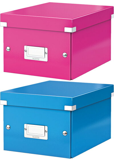 ライツLEITZ/WOWワオクリック&ストアA5ボックス収納ボックス(6043-00)