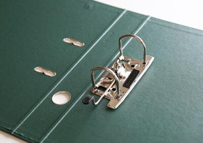 【レビューを書くとポイント10倍!!】エグザコンタEXACOMPTA/レバーアーチファイル(A4サイズ・2穴タテ型・背幅50mm)ビビットカラー