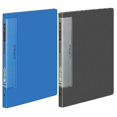 コクヨ/クリヤーブック(ウェーブカットポケット・替紙式)A4S型(最大収容ポケット枚数35枚)【ラ-T710】