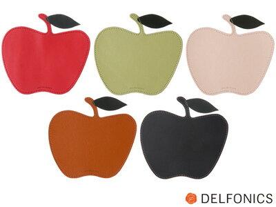 デルフォニックスDELFONICS/ブリストンBristonアップルマウスパッド本革製(BC36)