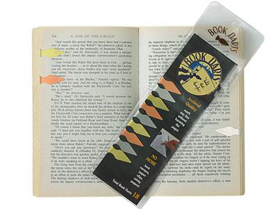 ブックマーク しおり / ブックダーツ BOOK DARTS マルチパック(18個入り)(GY47 / 400108)【DELFONICS デルフォニックス しおり ブックマーカー ブックマーク 金属 デザイン おしゃれ】