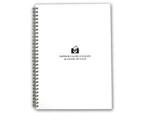 リングノート B5 / エトランジェ ディ コスタリカ ダブルリング ノートブック B5サイズ 横罫6mm 100枚 (SLD-25/SNY-B5)【etranger di costarica ノート デザイン おしゃれ かわいい】