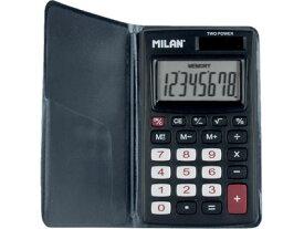 \ポイント10倍/【ミラン 電卓 おしゃれ】ミラン MILAN / 電卓 8桁 (150208KBL)