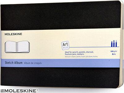【モレスキン ノート】ポイント10倍 モレスキン ラージ ART PLUS スケッチ アルバム スケッチ用上質紙(406739)(5180011)【MOLESKINE デザイン おしゃれ】