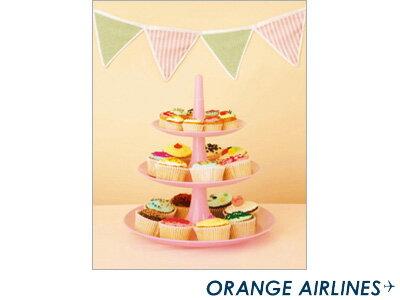 オレンジエアラインORANGEAIRLINES/スクラップフリーアルバム(M)CupcakePartyカップケーキパーティ(AL-188)