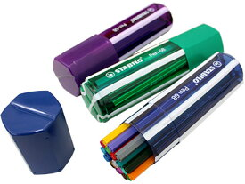 スタビロ STABILO / Pen68 ペン68 水性ファイバーペン (ビッグペンボックス 20色セット) (6820-1)