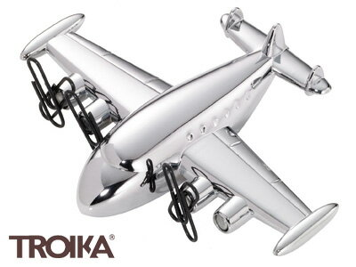 トロイカTROIKA/スーパーコニーSUPERCONNIE(プロペラ式飛行機型ペーパーウェイト、クリップホルダー、可動式)(GAM19/CH)