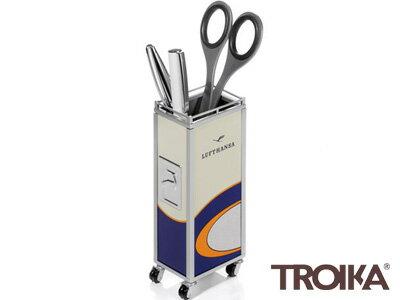 トロイカTROIKA/ミニトローリーレトロ1955(機内サービス用トローリーケース型ペンホルダー)(LHPH005/BL)