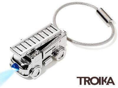 トロイカTROIKA/LEDライト付キーリング(ライトファイヤーエンジン)(KR14-41/CH)