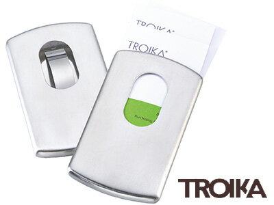 トロイカTROIKA/ビジネスカードケーススライド(名刺入れ)(CDC30/ST)