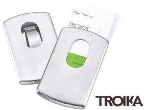 トロイカ TROIKA / ビジネスカードケース スライド(名刺入れ)(CDC30/ST)