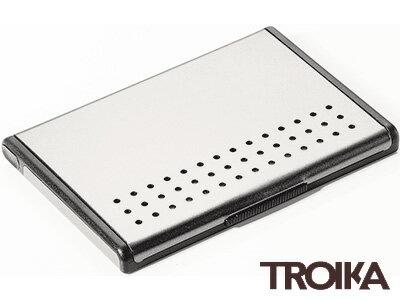 トロイカTROIKA/オートマチックカードケースミスタースローハンド(名刺入れ)シルバー(CDC95/AL)