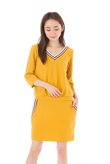 Fass (FAS) dress T1 T2 T3 size seven minutes sleeve V neck adult dress Lady's Fille A Suivre