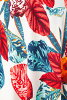 The size that Fass (FAS) dress T1 T2 T3 size short sleeves floral design knee length adult dress Lady's v neck jersey of superior grade has a big