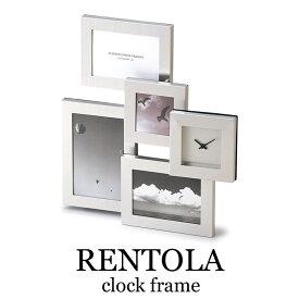 《CTS》253-773 RENTOLA クロックフレーム 時計 置き時計 フォトフレーム 写真立て ディスプレイ インテリア 253-773