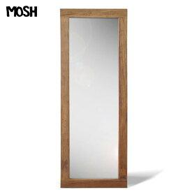 《MOSH》モッシュ アル ミラー 60×160cm 全身鏡 鏡 全身 姿見 ミラー アンティークミラー スタンドミラー 全身ミラー ジャンボミラー スリムミラー 無垢材 天然木 古材 古木 アンティーク 西海岸 ブルックリン シンプル カフェ風 サロン風 GART ガルト al-mirror-60-160