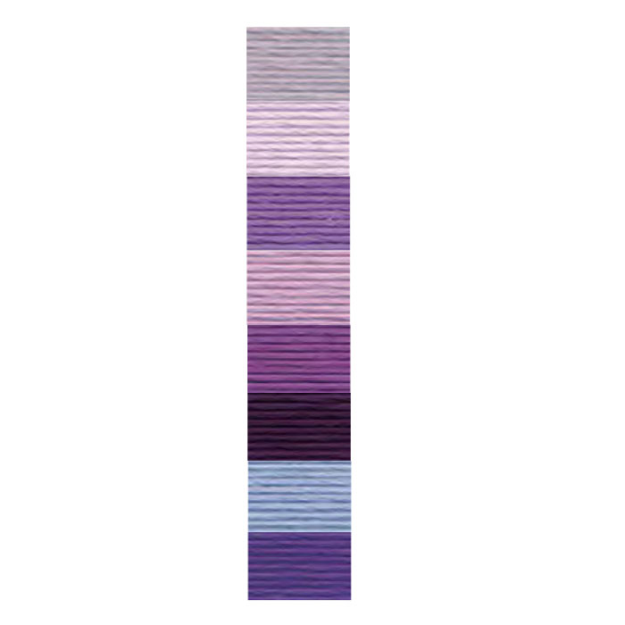 [116] DMC コットンパール8番糸 3743-333 #8_その2(紫) (ネコポス不可・ゆうパケット不可)