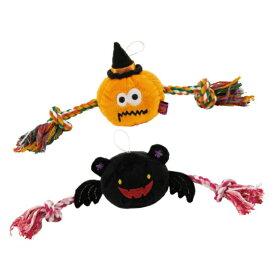 犬用品 おもちゃ ハロウィン かぼちゃ Pee Pee TOY パンプキン&デビル 愛犬用 ペットトイ