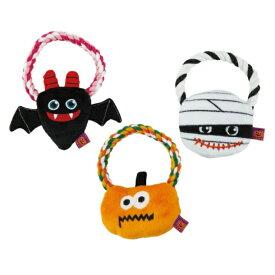 犬用品 おもちゃ ハロウィン かぼちゃ Pee Pee デンタルロープTOY ハロウィンパレード 愛犬用 ペットトイ