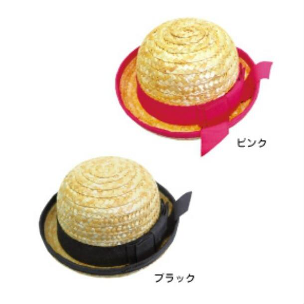犬 麦わら帽子 Mサイズ ハット ドッグアイテム 小物 熱中症対策 紫外線対策 UVカット
