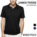 ジェームスパース メンズ ポロシャツ 半袖 James Perse 定番 スタンダード 定番 ブランド 無地 白 黒 シンプル MSX3337