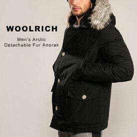 ウールリッチ ダウン アークティックパーカ メンズ Woolrich Arctic Parka TTトーンオントーン フォックス ファー ダウンジャケット