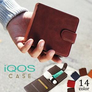 【通常1980円⇒マラソン限定1000円】アイコス ケース ギフト 手帳型 iQOS case 電子タバコ クリーナー ヒートスティック