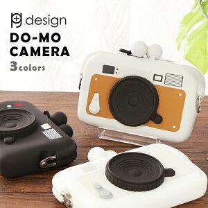 ピージーデザイン ドーモ カメラ p+g design DO-MO CAMERA カメラ 型 名刺入れ カードケース ネック ストラップ 付きプレゼント 贈り物 誕生日 プチプラ 送料無料