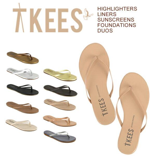 ティキーズ TKEES サンダル レディース ビーチサンダル歩きやすい 旅行 レザー フラットぺたんこ かわいい トローブ trove タウンサンダル ビーサン