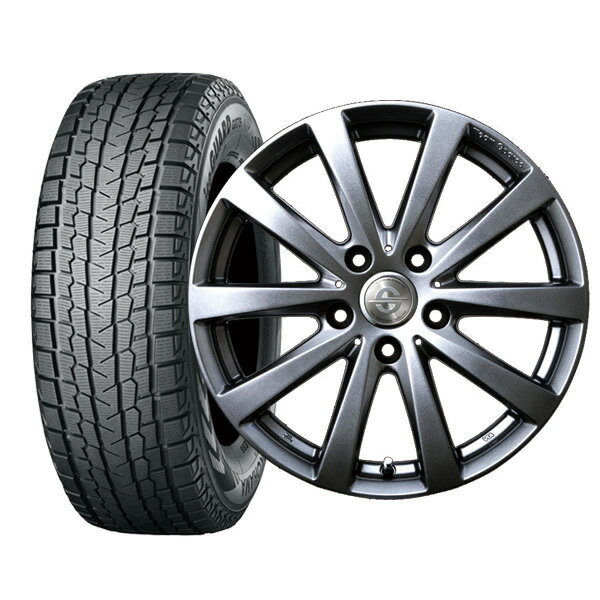 アウディQ7(8R) 255/55R18 ヨコハマ iceGUARD SUV G075 ホイール :バラーレ 18×8.0 130/5 +55 3X180 輸入車 スタッドレス ホイールセット 4本