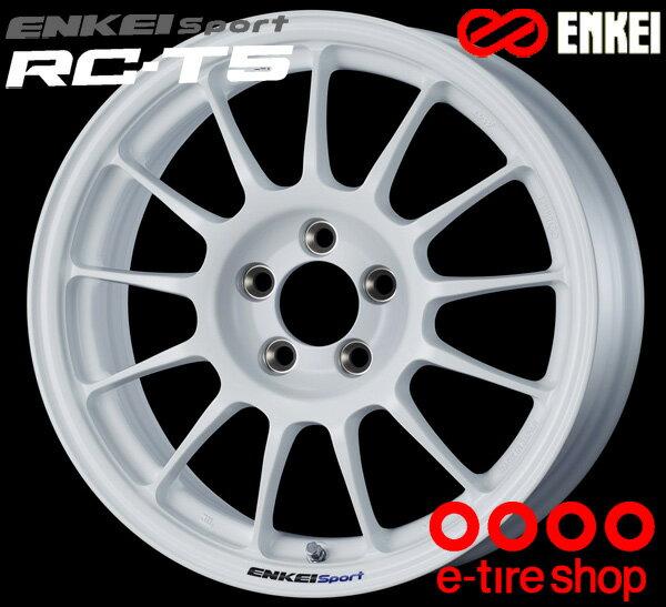 ENKEI エンケイ スポーツ RC-T5 16インチ 7.0J PCD114/5 +42 ボア径:75φ カラー:ホワイト ENKEI Sport RC-T5ホイール1枚