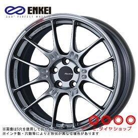 ENKEI GTC02 17×8.0 4/100 +42 φ75 カラー:ハイパーシルバー(HS)エンケイ ホイール1枚価格
