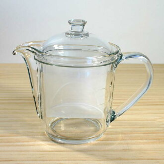 供长期畅销商品的草本茶使用的玻璃茶壶