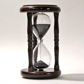誤差が少ない砂鉄を使用した「職人の手作り砂時計(5分計)」金子硝子