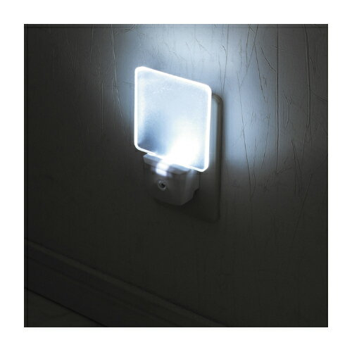 【ナイトライト】セーブ LEDナイトランプ クリアホワイト SV-4250