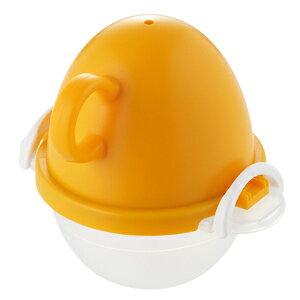 【曙産業】【AKEBONO】イージーエッグ レンジでゆでたまご1個用 オレンジ EZ-283
