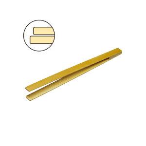 【ネコポス対応可】ANEX アネックス 竹ピンセット平180mm No.150