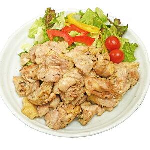 【送料無料】ひとくちチキン(焼目付き)1kg 鶏もも肉を炭火でじっくり焼き上げた、食べ応えがあり、香ばしい商品 レンジで温めるだけの簡単調理【鳥益】