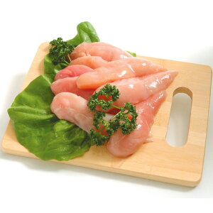 【送料無料】阿波尾鶏 ささみ 2kg(1パックでの発送) (徳島県産) (pr)(02705)特定JAS認定 国産出荷量ナンバー1の軍鶏血統地鶏