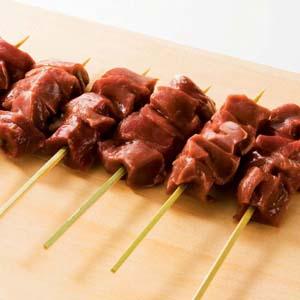 【やきとん】国産 豚ハツ串 30g×20本 バーベキュー BBQに最適【豚肉】(mk)(129798)