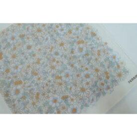 ハンカチ レディース レノマ  白花柄 オフホワイト 日本製(2018秋冬/50×50cm)