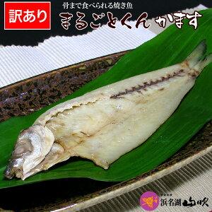 訳あり!沼津のひもの【送料無料】骨ごと食べられる まるごとくん かます2尾入り10袋セット