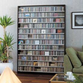 CD屋さんのCDラック 大容量 CD1668枚収納可能 インデックスプレート20枚付き | おしゃれ ラック シェルフ 収納棚 収納ラック DVD収納 CD収納 ナチュラル ホワイト 白 ダークブラウン cdラック cd収納ラック dvd収納ラック オーディオラック cd dvd 壁面収納 スリム 薄型