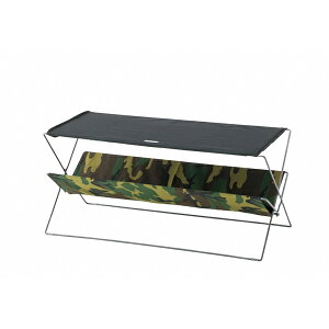 フォールディングテーブル スチール×コットン×ポリエステル 幅90×奥行41×高さ42cm 折りたたみ テーブル アウトドア ガーデンテーブル 撥水 コンパクト キャンプ おしゃれ 楽天 インテリア