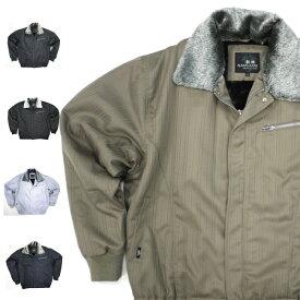 アイトス シャドーストライプ防寒パイロット ブルゾン 11012 ジャンパー Aitoz 防寒着 防寒服 作業着 作業服