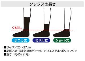 【消臭靴下・作業用】デオセル詳細