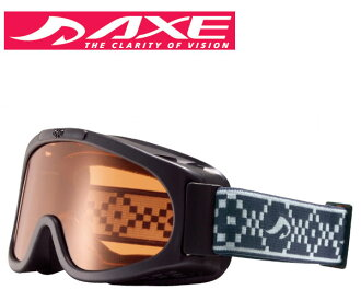 AXE (axe) 2016 model junior goggles AX22O-ST BK Black × Orange