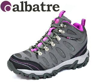 albatre (アルバトル) レディーストレッ walking shoes AL-TS1120 grey / magenta climbing shoes