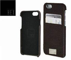 ヘックス HEX SOLO WALLET For iPhone6 Plus HX1836 カラー BROWN WOVEN LETHERアイフォンケース 財布・カード入れ
