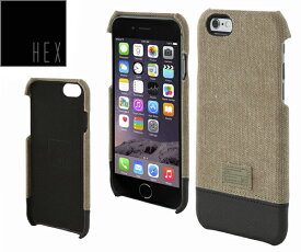 ヘックス HEX FOCUS CASE For iPhone6 HX1752 カラー KHAKI CANVASアイフォンケース